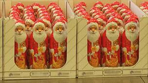 Viele viele Weihnachtsmänner!