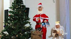 Weihnachtsfeier im AMO