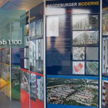 Bastion Cleve & IBA-Shop - AQB Magdeburg